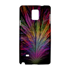 Fractal In Many Different Colours Samsung Galaxy Note 4 Hardshell Case