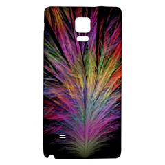 Fractal In Many Different Colours Galaxy Note 4 Back Case