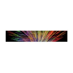 Fractal In Many Different Colours Flano Scarf (mini)