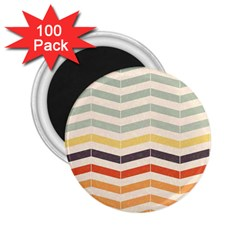 Abstract Vintage Lines 2.25  Magnets (100 pack)