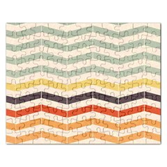 Abstract Vintage Lines Rectangular Jigsaw Puzzl