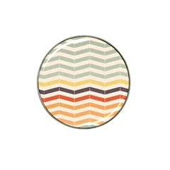 Abstract Vintage Lines Hat Clip Ball Marker (4 pack)