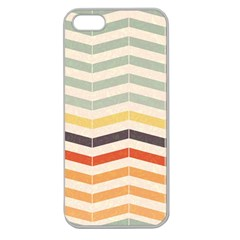 Abstract Vintage Lines Apple Seamless iPhone 5 Case (Clear)