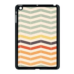 Abstract Vintage Lines Apple iPad Mini Case (Black)
