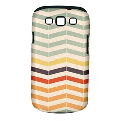 Abstract Vintage Lines Samsung Galaxy S III Classic Hardshell Case (PC+Silicone)