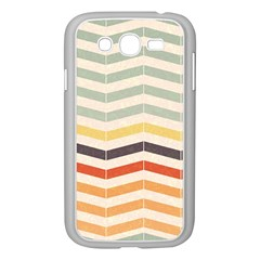 Abstract Vintage Lines Samsung Galaxy Grand DUOS I9082 Case (White)