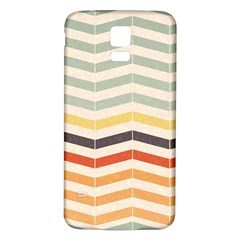 Abstract Vintage Lines Samsung Galaxy S5 Back Case (White)