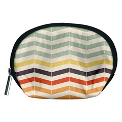 Abstract Vintage Lines Accessory Pouches (Medium)