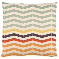 Abstract Vintage Lines Standard Flano Cushion Case (Two Sides)