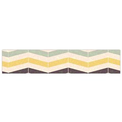Abstract Vintage Lines Flano Scarf (small)