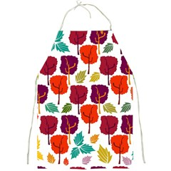 Colorful Trees Background Pattern Full Print Aprons