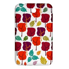 Colorful Trees Background Pattern Samsung Galaxy Tab 3 (7 ) P3200 Hardshell Case
