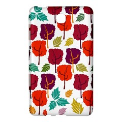 Colorful Trees Background Pattern Samsung Galaxy Tab 4 (8 ) Hardshell Case
