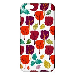 Colorful Trees Background Pattern iPhone 6 Plus/6S Plus TPU Case