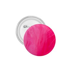 Very Pink Feather 1.75  Buttons