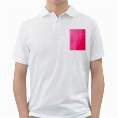 Very Pink Feather Golf Shirts