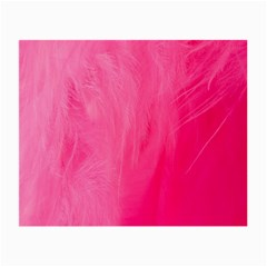 Very Pink Feather Small Glasses Cloth