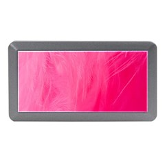 Very Pink Feather Memory Card Reader (mini)