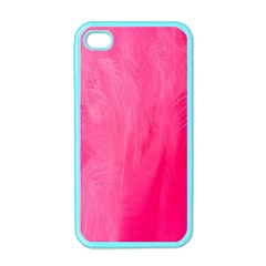 Very Pink Feather Apple Iphone 4 Case (color)