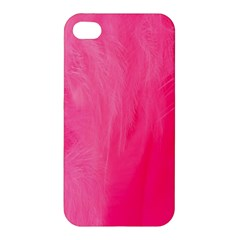 Very Pink Feather Apple Iphone 4/4s Hardshell Case