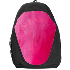 Very Pink Feather Backpack Bag