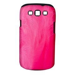 Very Pink Feather Samsung Galaxy S III Classic Hardshell Case (PC+Silicone)