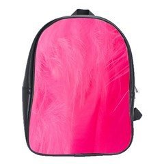 Very Pink Feather School Bags (XL)
