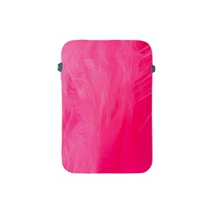 Very Pink Feather Apple iPad Mini Protective Soft Cases