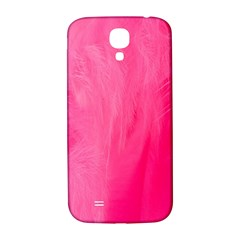 Very Pink Feather Samsung Galaxy S4 I9500/I9505  Hardshell Back Case