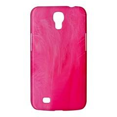 Very Pink Feather Samsung Galaxy Mega 6.3  I9200 Hardshell Case