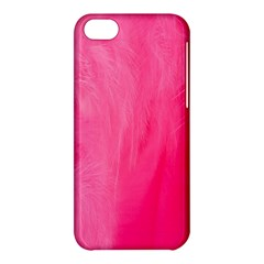 Very Pink Feather Apple iPhone 5C Hardshell Case
