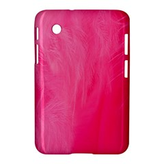 Very Pink Feather Samsung Galaxy Tab 2 (7 ) P3100 Hardshell Case