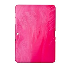 Very Pink Feather Samsung Galaxy Tab 2 (10 1 ) P5100 Hardshell Case