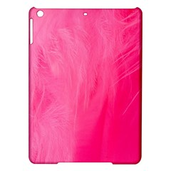 Very Pink Feather iPad Air Hardshell Cases