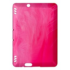 Very Pink Feather Kindle Fire HDX Hardshell Case