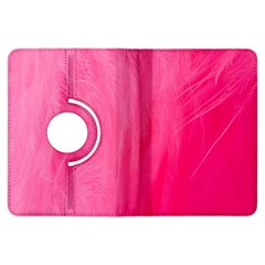 Very Pink Feather Kindle Fire HDX Flip 360 Case