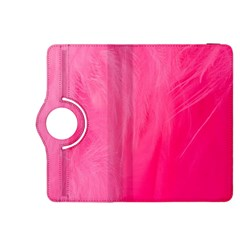 Very Pink Feather Kindle Fire HDX 8.9  Flip 360 Case