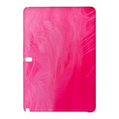 Very Pink Feather Samsung Galaxy Tab Pro 10.1 Hardshell Case