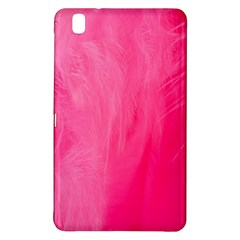 Very Pink Feather Samsung Galaxy Tab Pro 8.4 Hardshell Case