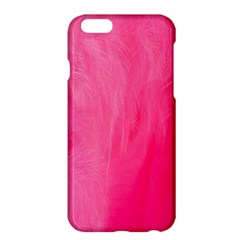 Very Pink Feather Apple Iphone 6 Plus/6s Plus Hardshell Case