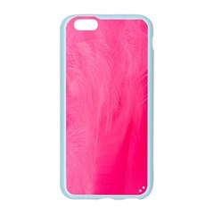 Very Pink Feather Apple Seamless iPhone 6/6S Case (Color)