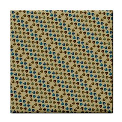 Abstract Seamless Pattern Tile Coasters