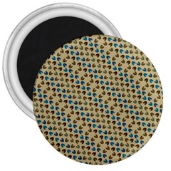 Abstract Seamless Pattern 3  Magnets