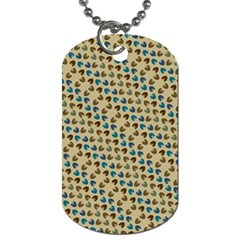 Abstract Seamless Pattern Dog Tag (One Side)