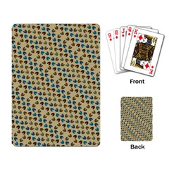 Abstract Seamless Pattern Playing Card