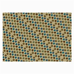 Abstract Seamless Pattern Large Glasses Cloth (2 Side)