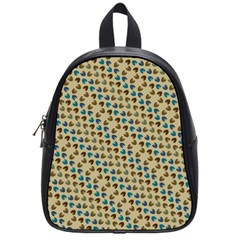 Abstract Seamless Pattern School Bags (small)
