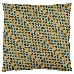 Abstract Seamless Pattern Large Cushion Case (One Side)