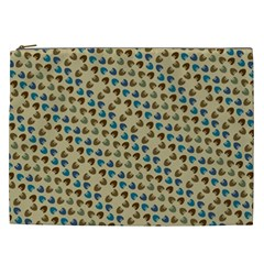 Abstract Seamless Pattern Cosmetic Bag (XXL)