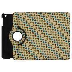 Abstract Seamless Pattern Apple iPad Mini Flip 360 Case